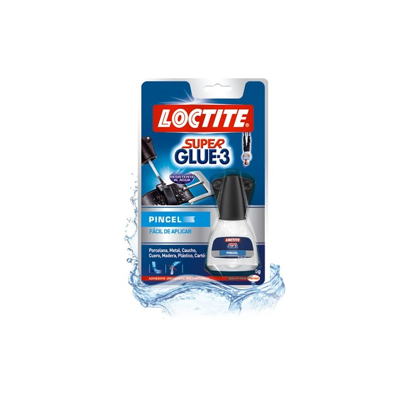 PEGAMENTO SUPER-GLUE-3 5 GRS. PINCEL