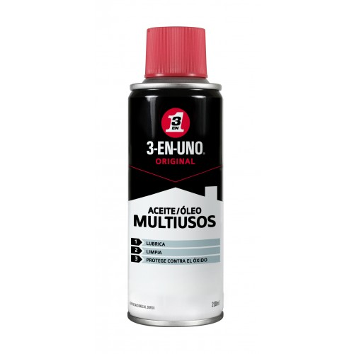 ACEITE 3-EN-UNO LUBRICANTE 200 ML. SPRAY