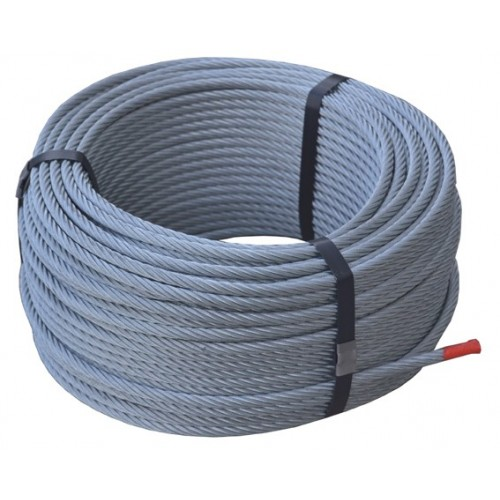 CABLE ACERO 6 X 7 - 1 (ROLLO 25 MTS.)