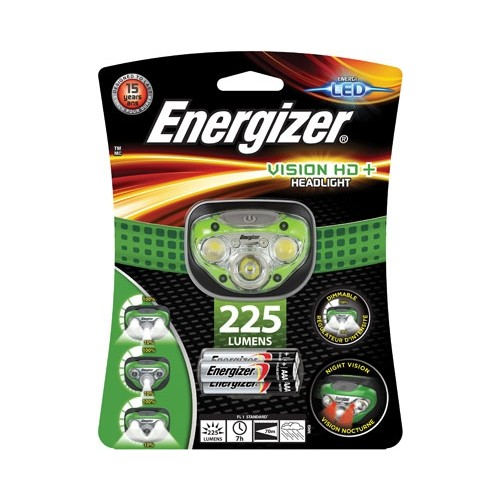 FRONTAL ENERGIZER (225 LM.)5 LEDS + 3AAA