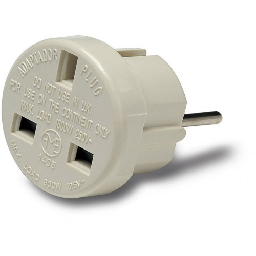ADAPTADOR EUROPEO INGLES 10-A REF.1405