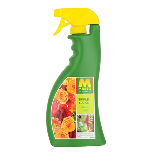 INSECTICIDA MASSO TRIPLE ACCION 750ML.