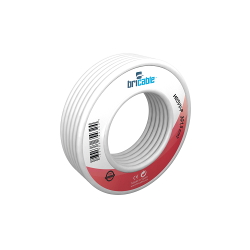 CABLE ELECT.MANG. 3X1'50MM. BLANCO