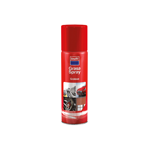 GRASA SPRAY KRAFFT 500 ML. ROJA